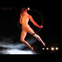 Acrobatische act - Aerial Lyra