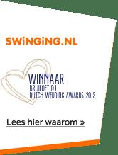 Winnaar bruiloft DJ | Swinging