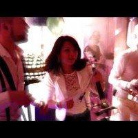 Swinging DJ Show ft. DJ Keb, Saxofonist Arjan, Percussionist Yannick en Violiste Mi Sun